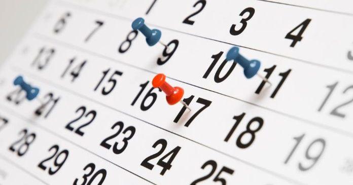 Календарь событий гэмблинг индустрии