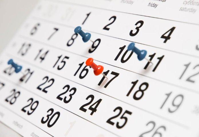 Календарь событий гемблинг индустрии